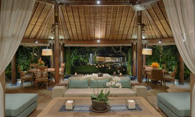 Villa Vanna Sedi Indoor Living Area with Pool View | Canggu, Bali