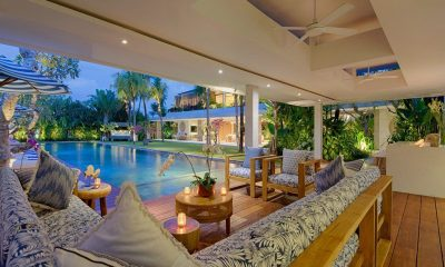 Villa Zambala Outdoor Seating Area | Canggu, Bali