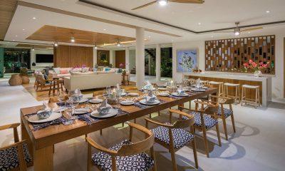 Villa Zambala Living and Dining Area | Canggu, Bali