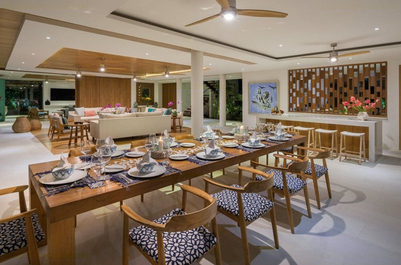 Villa Zambala Living and Dining Area | Canggu, Bali