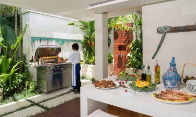 Villa Zambala Outdoor Barbeque | Canggu, Bali