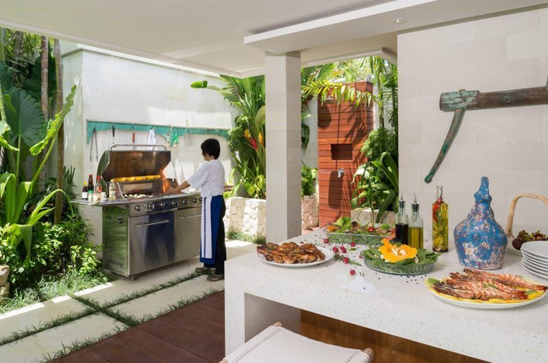 Villa Zambala Outdoor Barbeque | Canggu, Bali