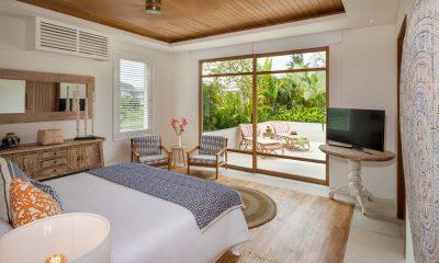 Villa Zambala Bedroom with TV | Canggu, Bali