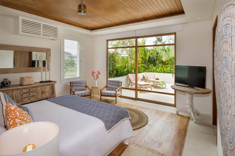 Villa Zambala Bedroom with TV | Canggu, Bali