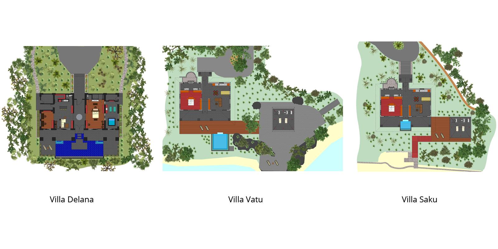 Vatuvara Floorplan | Vatuvara, Fiji