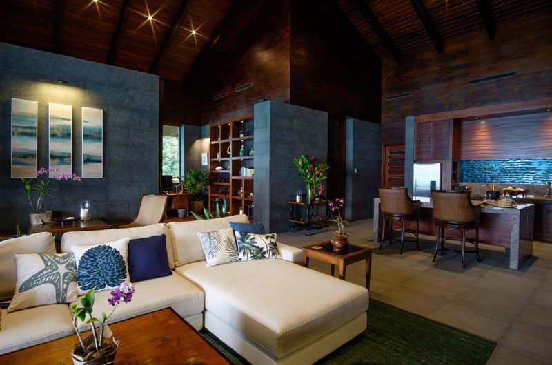 Vatuvara Villa Delana Indoor Living Area | Vatuvara, Fiji