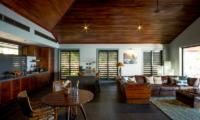 Vatuvara Villa Saku Indoor Living Area | Vatuvara, Fiji