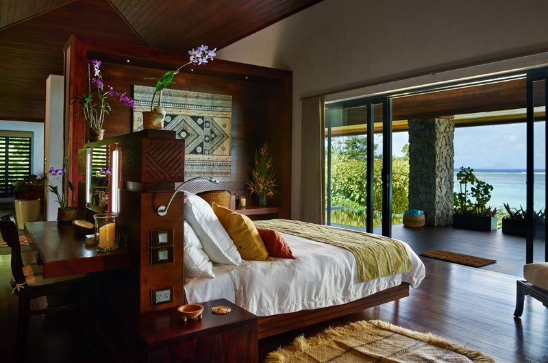 Vatuvara Villa Saku Bedroom with Sea View | Vatuvara, Fiji