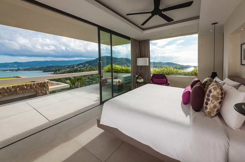 Villa Anavana Bedroom with Sea View | Choeng Mon, Koh Samui