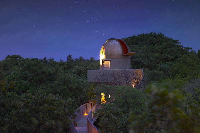 Maldives Soneva Fushi Observatory