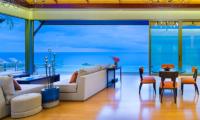 Villa Haleana Indoor Living Area | Naithon, Phuket