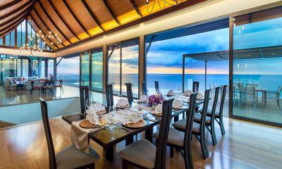 Villa Haleana Indoor Dining Area | Naithon, Phuket