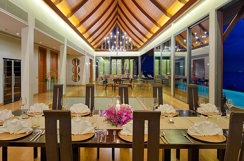 Villa Haleana Indoor Living and Dining Area | Naithon, Phuket