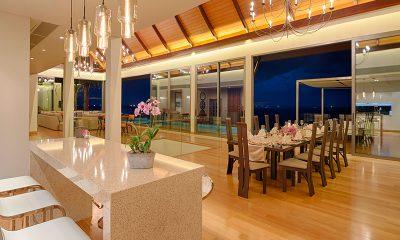 Villa Haleana Living and Dining Area | Naithon, Phuket