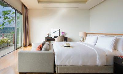 Villa Haleana Bedroom and Balcony | Naithon, Phuket
