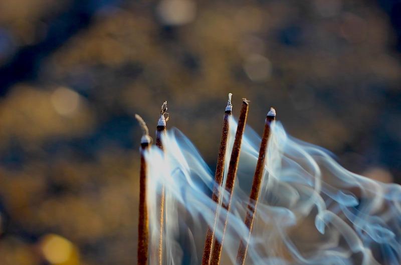 Sri Lanka Kandy Temple Incense