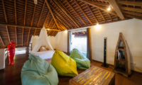 La Villa Des Sens Bali Bedroom with TV   Kerobokan, Bali