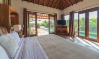 La Villa Des Sens Bali Bedroom with Pool View   Kerobokan, Bali
