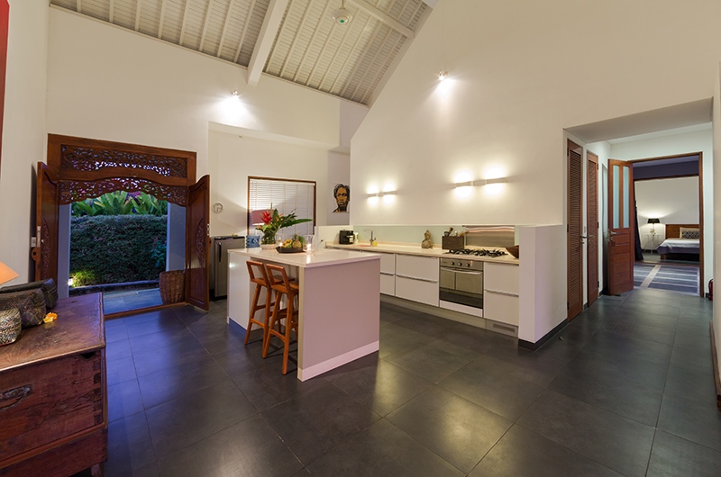 The Uma Villa Full Equipment Kitchen | Canggu, Bali