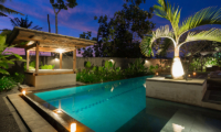 The Uma Villa Pool with Night View | Canggu, Bali