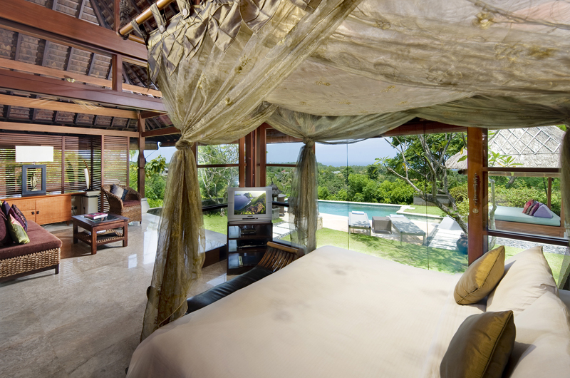 Villa Indah Manis Bulan Madu Bedroom with Pool View | Uluwatu, Bali