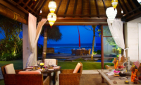 Villa Maya Dining Table with Ocean View   Sanur, Bali
