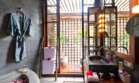 Villa Maya Semi Open Bathroom   Sanur, Bali