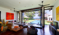 Villa Maya Open Plan Living Room   Sanur, Bali