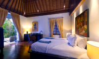Villa Maya Bedroom with Wooden Floor   Sanur, Bali
