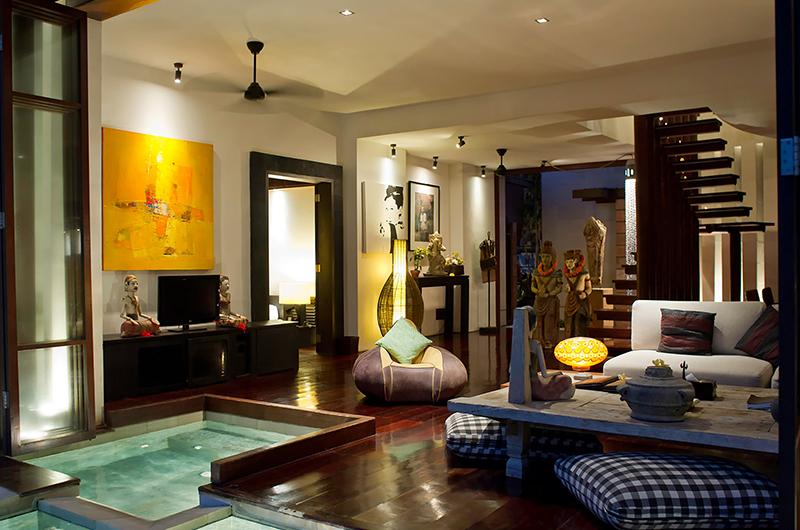 Villa Maya Living Room   Sanur, Bali