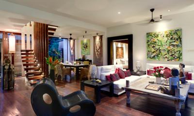 Villa Nataraja Indoor Seating | Sanur, Bali