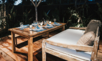 Villa Sari Outdoor Dining Night View | Nusa Lembongan, Bali