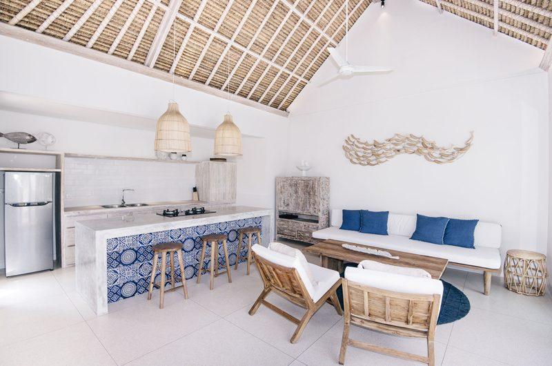 Villa Sari Kitchen and Living Area | Nusa Lembongan, Bali