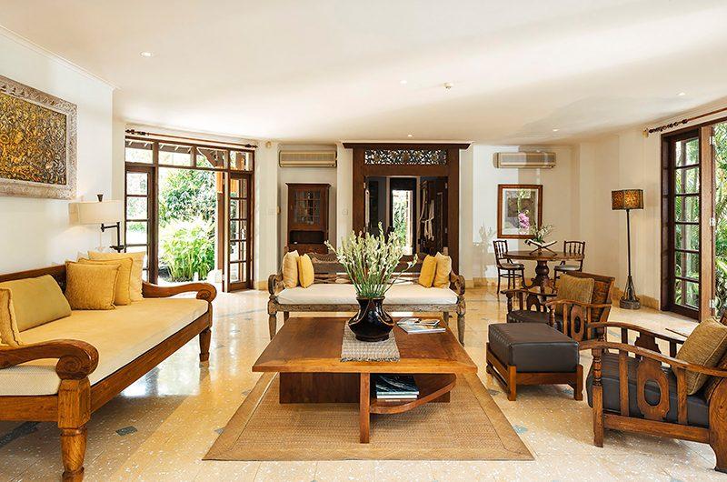 Villa Waru Open Plan Living Area | Nusa Dua, Bali