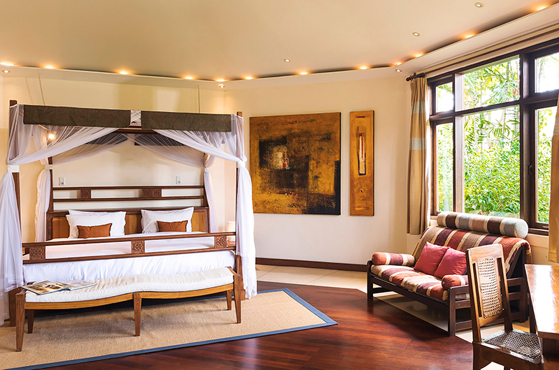 Villa Waru Bedroom One with Seating | Nusa Dua, Bali