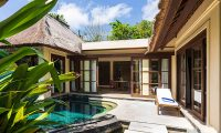 Villa Waru Pool Side Area | Nusa Dua, Bali