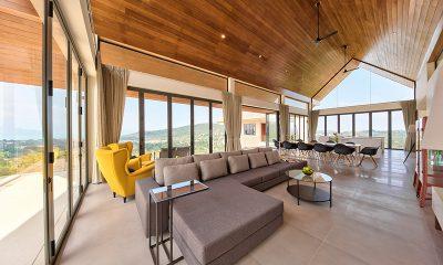 Nojoom Hills Living Room | Bophut, Koh Samui