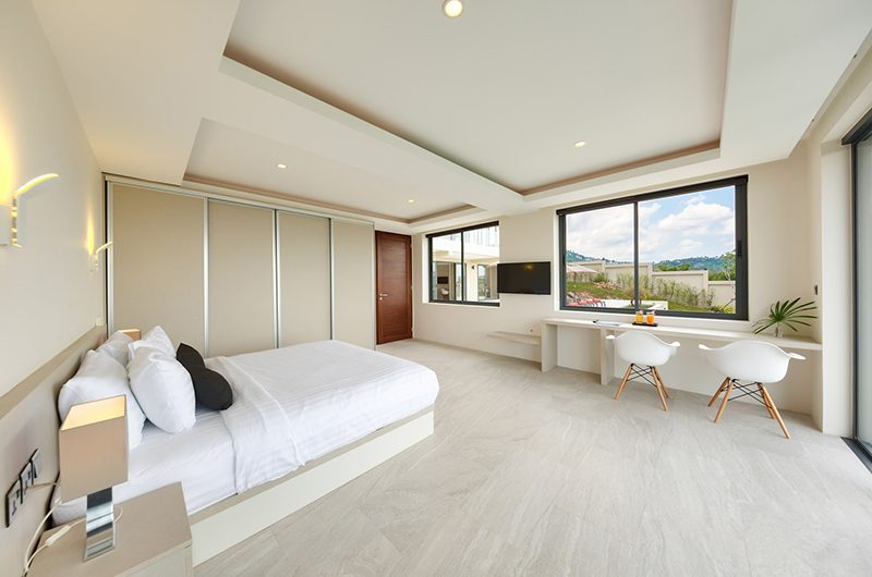 Nojoom Hills Bedroom with Study Table | Bophut, Koh Samui