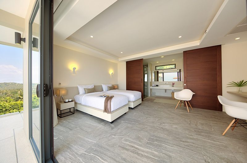 Nojoom Hills Twin Bedroom with Seating | Bophut, Koh Samui