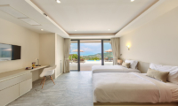Nojoom Hills Twin Bedroom with TV | Bophut, Koh Samui