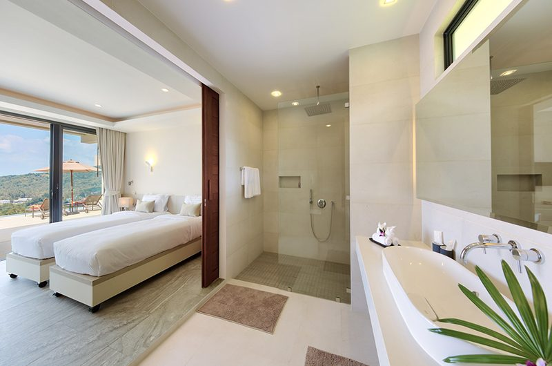 Nojoom Hills Twin Bedroom with Bathroom | Bophut, Koh Samui