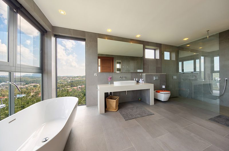 Nojoom Hills Bathroom with Bathtub | Bophut, Koh Samui