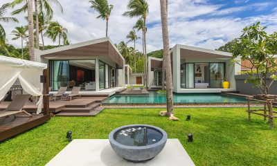Villa Anar Bird's Eye View | Bang Por, Koh Samui