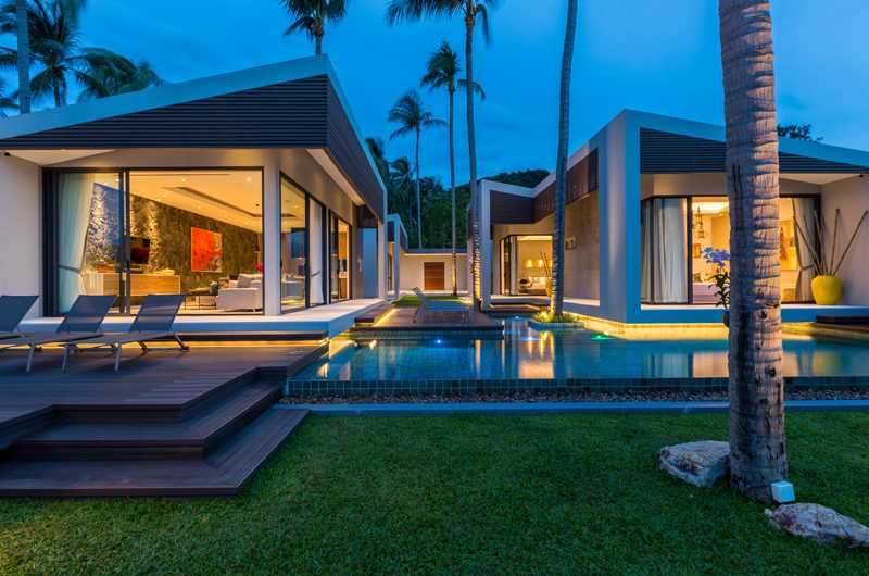 Villa Anar Night View | Bang Por, Koh Samui