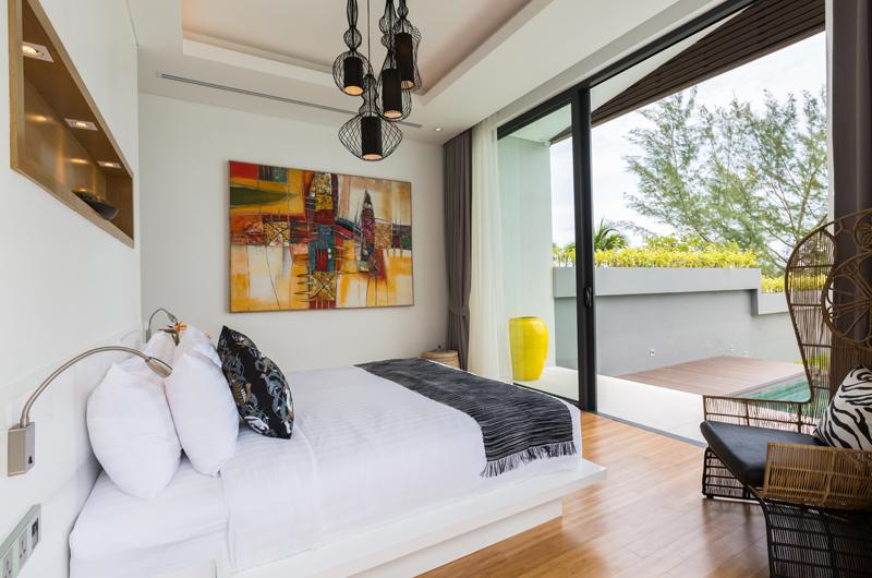 Villa Anar Bedroom and Balcony | Bang Por, Koh Samui