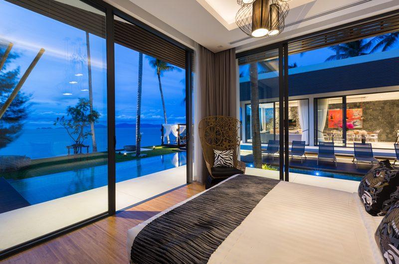 Villa Anar King Size Bed with Pool View | Bang Por, Koh Samui
