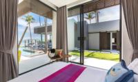 Villa Anar Bedroom with Pool View | Bang Por, Koh Samui