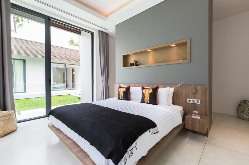 Villa Anar Bedroom with Garden View | Bang Por, Koh Samui