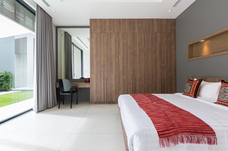Villa Anar Bedroom | Bang Por, Koh Samui