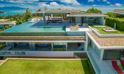 Villa Anavaya Bird's Eye View | Choeng Mon, Koh Samui